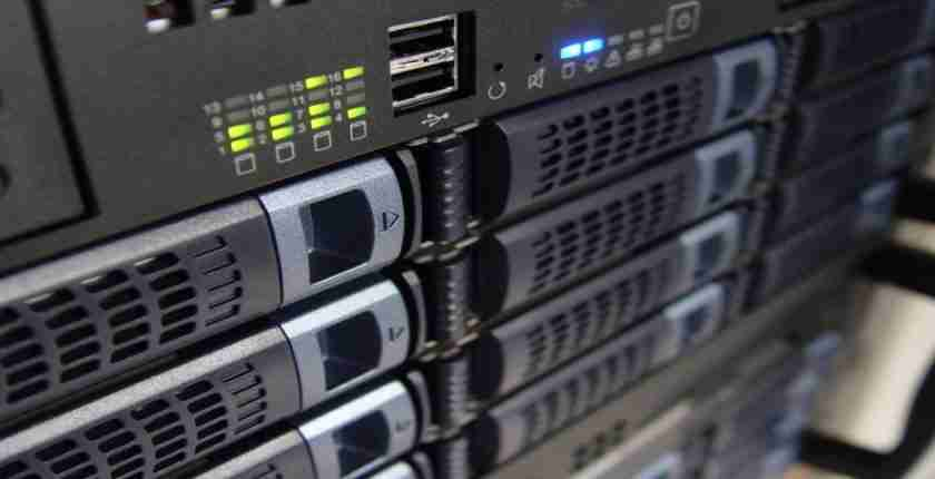 Servers crucial to business apps and environment
