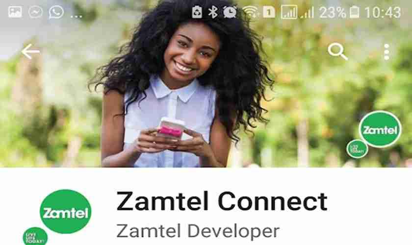 Zamtel Connect is an app developed by Zamtel