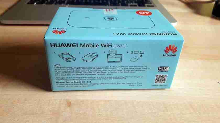 Huawei Portable Mobile Wifi