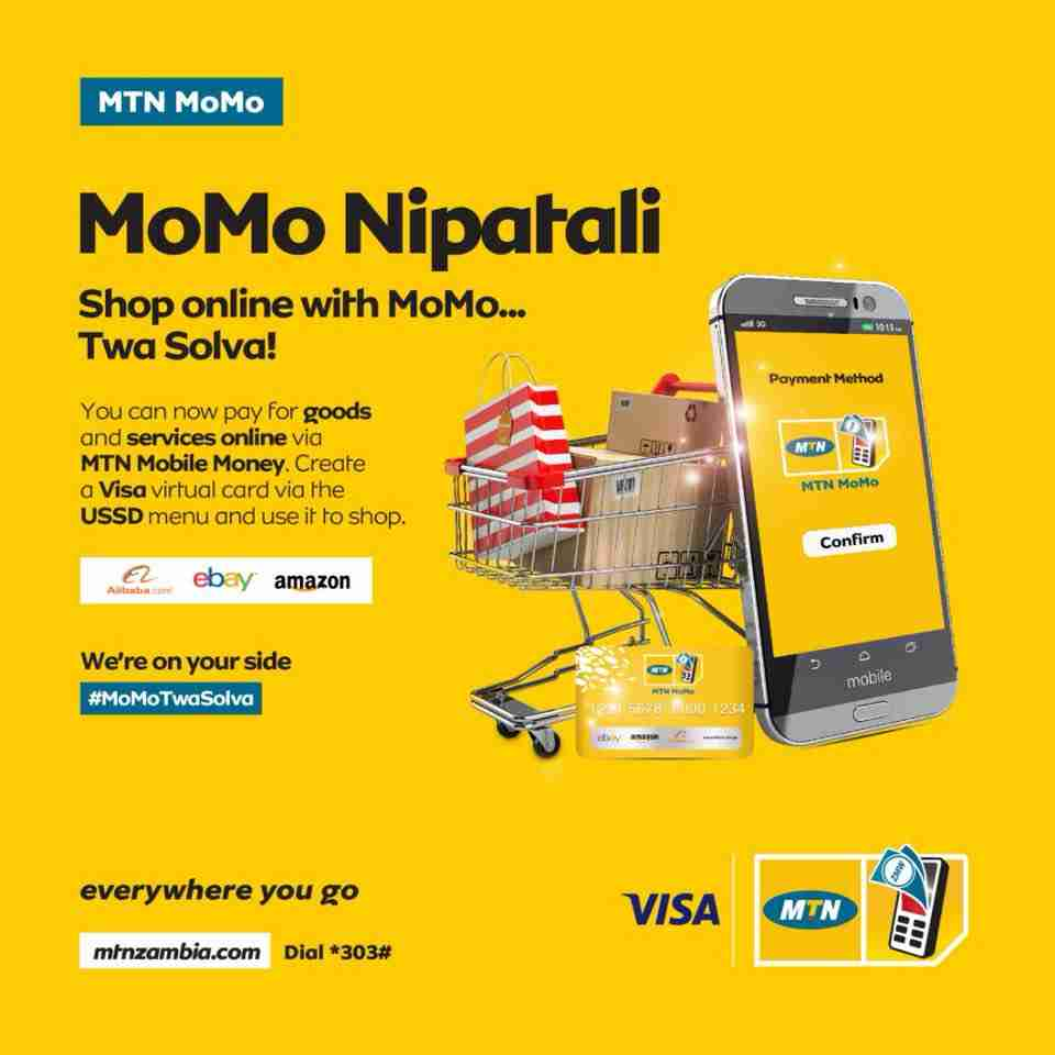 fe389660395 You Can Now Shop Online With MTN Virtual MoMo Visa Card