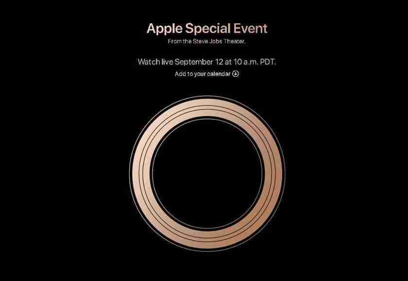 Apple Special Event September 2018 1